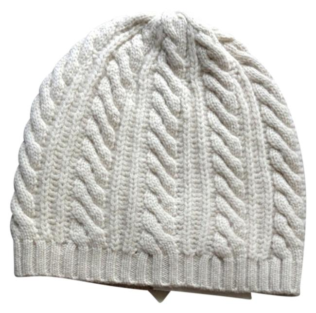 Item - Cream Knit Cap Hat
