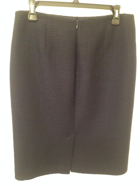 Talbots Pencil Skirt Navy Blue