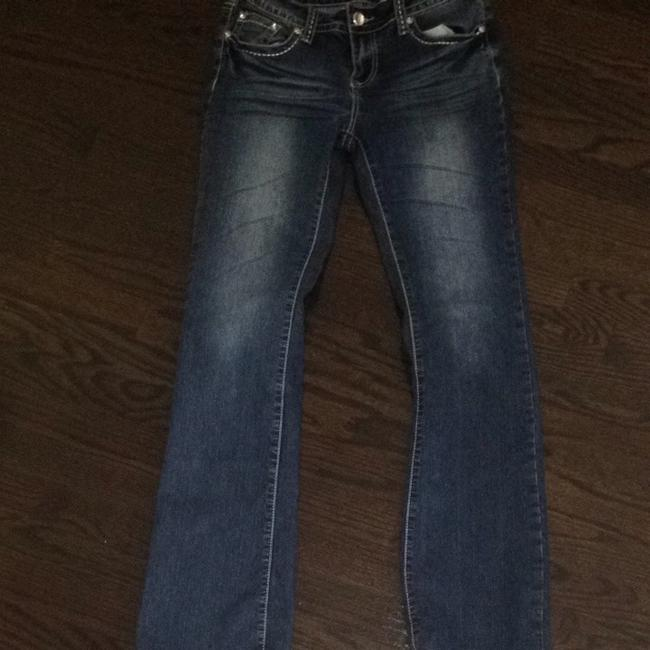 Forever 21 Boot Cut Jeans-Medium Wash