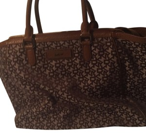 DKNY Satchel in Tan-brown
