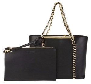 Ted Baker Purse Chain Tote in Black