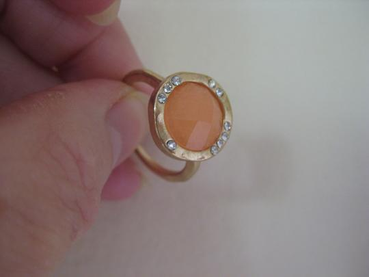 Meghan LA Meghan LA Audrey Ring , Set of 5, Peach, CZ, Size 7 NWT