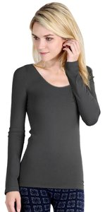 Nikibiki Long Sleeve Top Charcoal