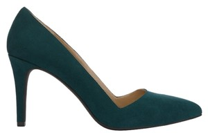 JustFab Green Pumps