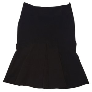 H&M Steampunk Fish Tail Sexy Goth Skirt Black