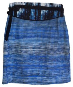 Elie Tahari New Roni Skirt Blue
