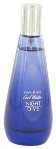 davidoff COOL WATER NIGHT DIVE by DAVIDOFF ~ Women's EDT Spray (Tester) 2.7 oz