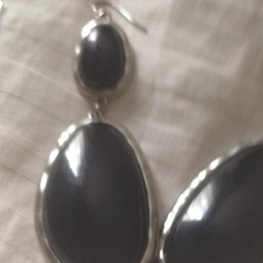 Other Black And Silver Earrings