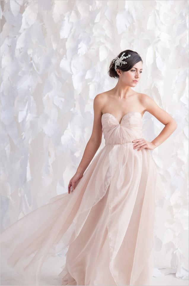 Sarah seven blushing wedding dress tradesy weddings for Sarah seven used wedding dress