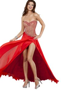 Jovani Long Long Front Slit Dress