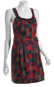 Marc by Marc Jacobs short dress Multi Red Tumbling Blocks on Tradesy