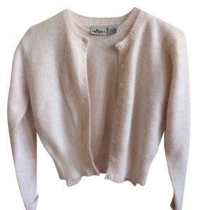 Hillard & Hanson Twinset Fuzzy Shell Small Sweater Set Sweater Long-sleeve Short-sleeve Angora Cardigan