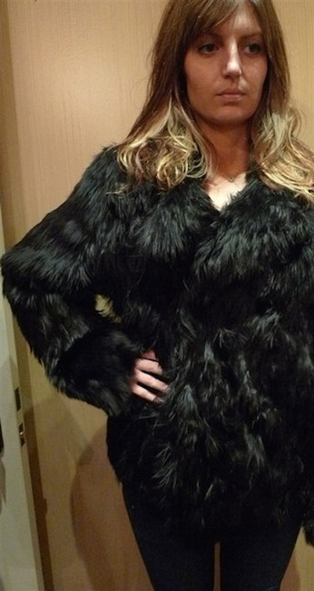32 Paradis Pour Sprung Freres Shaggy Chubby Fur Coat