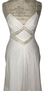 Catherine Malandrino short dress White Tea Length Summer on Tradesy