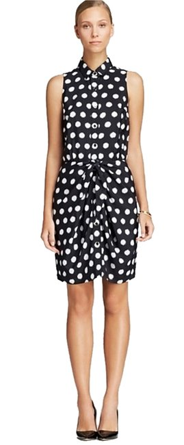 Preload https://item2.tradesy.com/images/michael-kors-knotted-tie-sleeveless-polka-dot-short-casual-dress-size-8-m-1227321-0-0.jpg?width=400&height=650