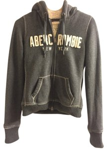 Abercrombie & Fitch Faux Fur Fur Winter Sweatshirt