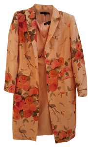 Anne Klein Ann Klein Silk Floral Dress Suit