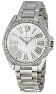 Michael Kors Stainless Steel Silver tone Designer Dress Watch