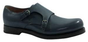 Gucci Loafers Men's Blue Formal