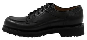 Gucci Loafers Men's 352954 Men's Leather Lace-up Black Formal
