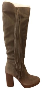 Steve Madden Suede Taupe Boots