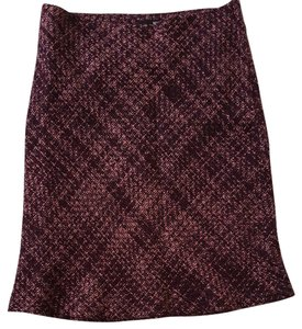 H&M Steampunk Fish Tail Sexy Plum Skirt Multi