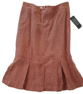 H&M Steampunk Fish Tail Sexy Goth Red Skirt Multi