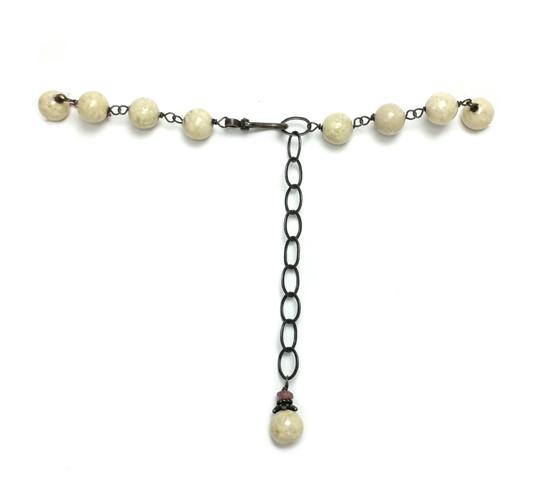 Kinley Sterling silver Tourmaline and Sandstone Kinley Charm necklace Image 8