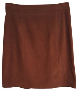 Norton McNaughton Size 10 Skirt Brown
