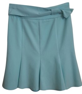 Rampage Size 1 Spring Blue Short Mini Small Summer Belt Skirt Light blue