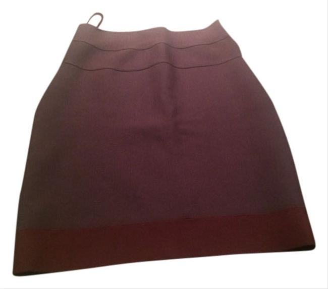 Hervé Leger Skirt Burgundy