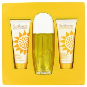 Elizabeth Arden SUNFLOWERS ~ Gift Set -- 3.3 oz EDT Spray + 3.3 oz Hydrating Cream ...