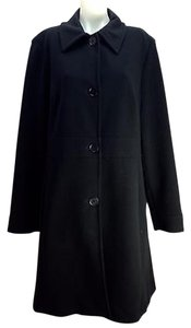 Pendleton Navy Rayon Trench Coat