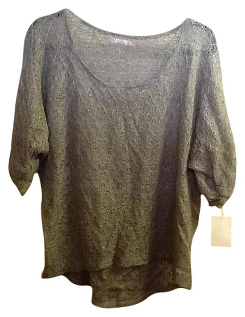 Preload https://img-static.tradesy.com/item/1228084/costume-national-gray-silver-light-weight-sweaterpullover-size-14-l-0-0-650-650.jpg