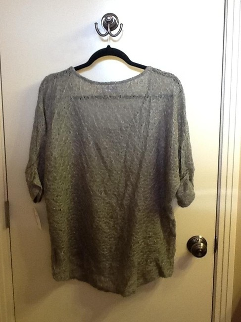 CoSTUME NATIONAL Silver Light Weight Sweater
