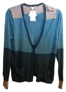 Halogen Multi-colored Light Weight Long Sleeve Cardigan