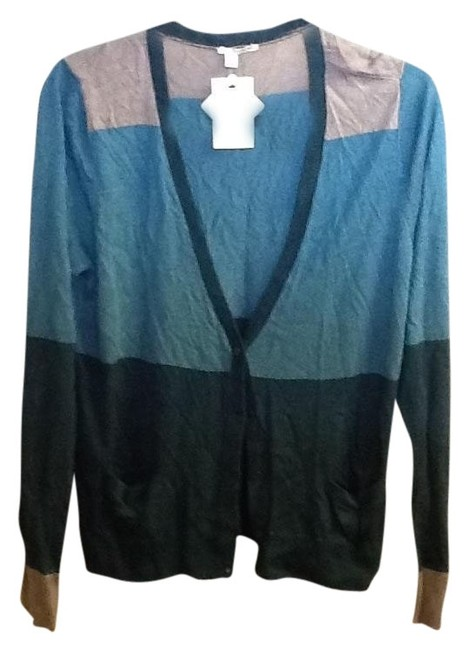 Preload https://item1.tradesy.com/images/halogen-gray-turquoise-green-multi-colored-light-weight-long-sleeve-cardigan-size-16-xl-plus-0x-1228130-0-0.jpg?width=400&height=650