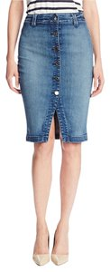 7 For All Mankind Skirt Denim