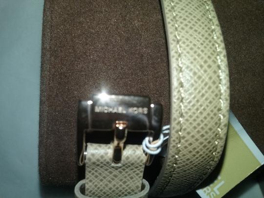 Michael Kors w/2 BONUSES-Khaki Mini Madison Crystal Studded Wrap