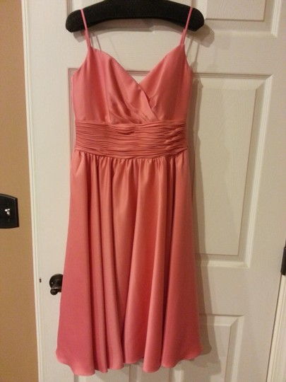 Preload https://img-static.tradesy.com/item/1228167/me-too-coral-polyester-formal-bridesmaidmob-dress-size-6-s-0-0-540-540.jpg