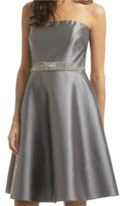 Badgley Mischka Formal Beaded Strapless Dress