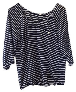 J.Crew Top Navy / stripe