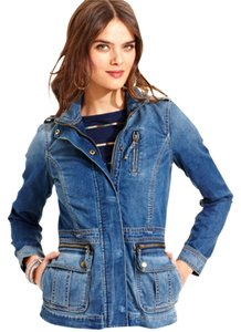 Lucky Brand Denim blue Womens Jean Jacket