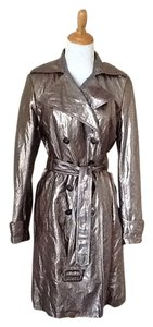 Calvin Klein Metallic Coat