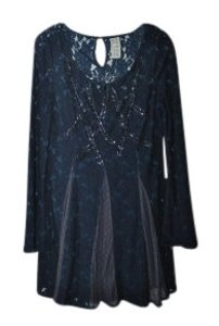 Free People short dress Navy blue on Tradesy