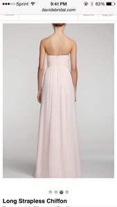David's Bridal Plum F15555 Dress