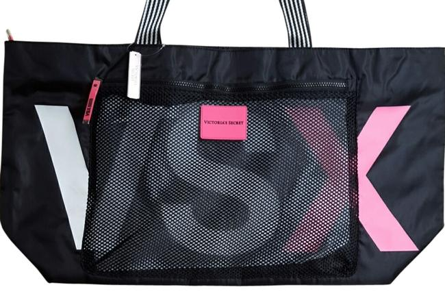 Item - Black Nylon Tote