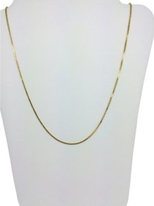 Other 14K Yellow Gold Box Chain ~1.00mm 18 Inches