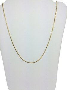 Other 14K Yellow Gold Box Chain ~0.80mm 18 Inches