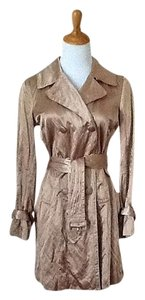 Talbots Metallic Trench Coat